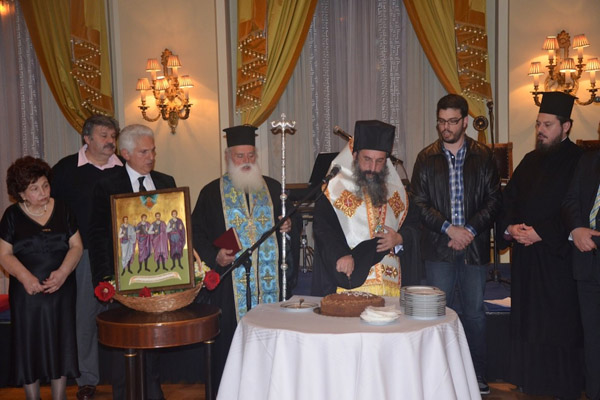 You are currently viewing Ο Μητροπολίτης Ρεθύμνης Ευγένιος, συναντήθηκε με τους Ρεθύμνιους της Αττικής