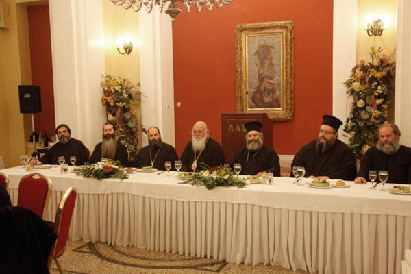 Συνάντηση Αρχιεπισκόπου με τα στελέχη του ιδρύματος Νεότητας