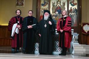 Το Πανεπιστήμιο Fordham ανακήρυξε επίτιμο διδάκτορα τον Αρχιεπίσκοπο Αλβανίας (ΦΩΤΟ)