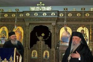 Ιερατική Σύναξη στην Ι. Μητρόπολη Λαρίσης, παρουσία του Λογίου Ιερομονάχου Αντίπα