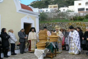 Στην ακριτική  Κάρπαθο, εόρτασαν τον Αγ. Βλάσιο