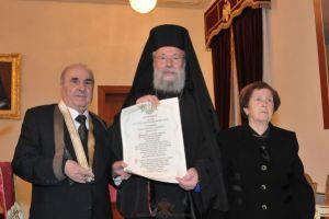 Η Ιερά Αρχιεπισκοπή Κύπρου τίμησε τον Δημήτρη Στυλιανίδη
