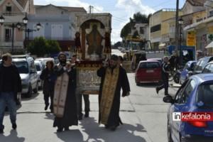 Εορτάζει ο πολιούχος Άγιος Χαράλαμπος, στο πληγωμένο Ληξούρι