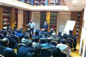 Επίσκεψη νέων και υποψήφιων κληρικών στην Βιβλιοθήκη της Ι.Α. Αθηνών