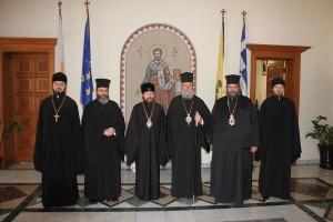 Ρωσική Αντιπροσωπεία στην Εκκλησία της Κύπρου
