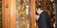 Πολλοί αναρωτήθηκαν για «Πιστεύω» και το «Πάτερ Ημών» του πρωθυπουργού στο Άγιο Όρος