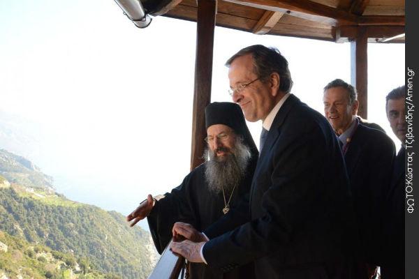 You are currently viewing Τα πολλαπλά οφέλη και το κύριο μήνυμα, από το ταξίδι του Αντώνη Σαμαρά στο Άγιο Όρος