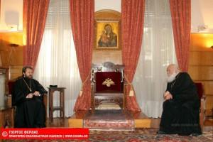 Η Ρωσία πλαγιοκοπεί το Φανάρι,  εν όψει της Συνάξεως με επισκέψεις στις Αυτοκέφαλες Εκκλησίες.- Ο Ιλαρίωνας στον Αρχιεπίσκοπο Αθηνών.