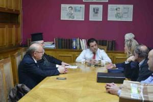 Ο Διδυμοτείχου Δαμασκηνός στον Υπουργό Υγείας