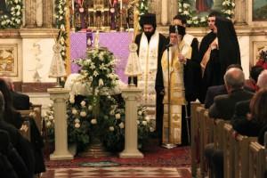 Κηδεύτηκε ο μητροπολίτης Νέας Υόρκης Φίλιππος
