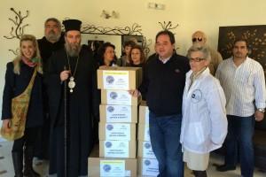 """Η κινητή μονάδα της """"Αποστολής"""" με εθελοντές γιατρούς του Ι Σ.Α στα ορεινά χωριά της Κρήτης"""