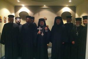 Ιερατική Σύναξη στην Ι.Μ. Μπουένος Άιρες