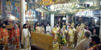 Κορυφώθηκαν οι εόρτιες εκδηλώσεις για την Αγία Κυράννα την Οσσαία