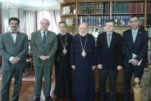 Συνάντηση ΥΦΥΠΕΞ με τον Αρχιεπίσκοπο Αυστραλίας