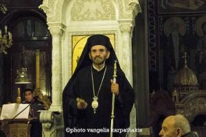 Κατανυκτικός εσπερινός στον Άγιο Αρτέμιο Παγκρατίου