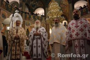 Αγιορείτικη αγρυπνία στο προσκύνημα του Χριστού στα Σπάτα (ΦΩΤΟ)
