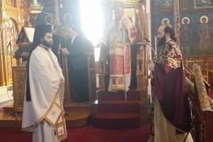 Ο  Ρεντίνης Σεραφείμ στον Αγιο Νικόλαο Καρδίτσας, της Σταυροπροσκυνήσεως