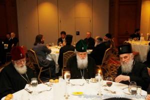 Το πρώτο  δείπνο των Προκαθημένων και λοιπών εκπροσώπων στην Πόλη