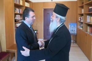 Επίσκεψη Γενικού Γραμματέα Θρησκευμάτων στον Φθιώτιδος Νικόλαο