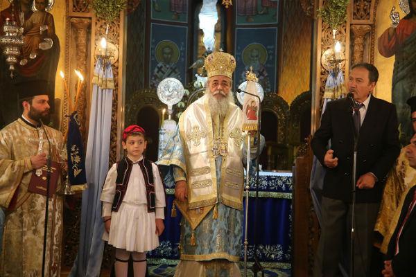 Η διπλή εορτή της Παναγίας και της πατρίδας στη Λαμία (ΦΩΤΟ)