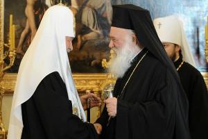 """""""Αντίποινα"""" Πατριάρχη Μόσχας για την ακύρωση του ταξιδιού του Αρχιεπισκόπου"""