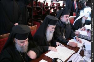 Βασικά σημεία ομιλίας Πατριάρχη Ιεροσολύμων στη Σύναξη Προκαθημένων