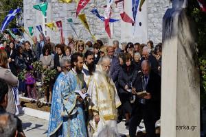 Εορτασμός 25ης Μαρτίου στους Ζάρακες