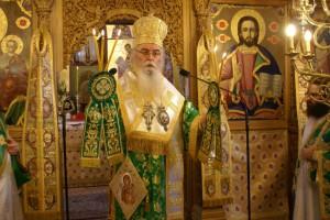 """Καστορίας Σεραφείμ: """"Να μην υπάρχει σπίτι χωρίς την ελληνική σημαία"""""""