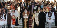 Υποδοχή Τιμίας Κάρας Αγίου Παρθενίου στο Κερατσίνι