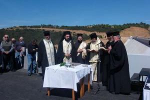 Ο Κυδωνίας Δαμασκηνός εγκαινίασε το φράγμα Βαλσαμιώτη