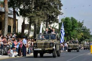Η Κύπρος τιμά την επέτειο της 25ης Μαρτίου