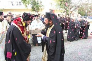 Η Κομοτηνή υποδέχτηκε την Τίμια Κάρα του Αγίου Χαραλάμπους που φυλάσσεται στην ιστορική  Παναγία Ν. Ηρακλείτσας