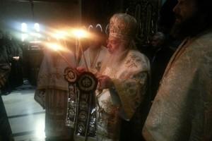 Αγρυπνία στην Ι.Μ. Αγίου Γρηγορίου Παλαμά Κουφαλίων