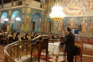 Ομιλία για τον Άγιο Πορφύριο τον Καυσοκαλυβίτη στο Π. Φάληρο