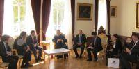 Γεωργιανός Υπουργός στον Αρχιεπίσκοπο Κύπρου