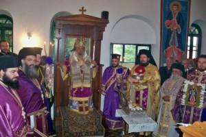 Η Ραψάνη εόρτασε τον Πολιούχο της Νεομάρτυρα Άγιο Γεώργιο
