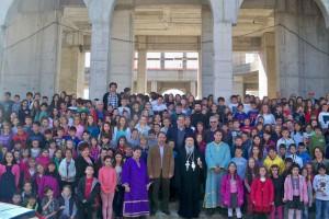 Εκατοντάδες παιδιά εκκλησιάσθηκαν στον Ι.Ν. της Του Θεού Σοφίας Λαρίσης