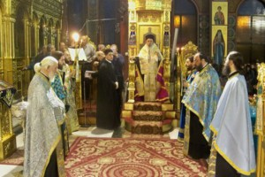 Η Ακολουθία των Χαιρετισμών της Θεοτόκου στον Ι.Ν. Αγίου Νικολάου Λαρίσης