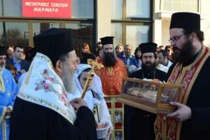 Η Ιστιαία υποδέχτηκε τμήμα του ιερού λειψάνου του Αγίου Νεκταρίου