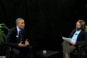 O Oμπάμα κάθισε δίπλα στη φτέρη του Ζακ Γαλιφιανάκι και έδωσε μια αλλόκοτη συνέντευξη που δεν έχει ξαναδώσει ποτέ πρόεδρος [βίντεο]  Πηγή: O Oμπάμα κάθισε δίπλα στη φτέρη του Ζακ Γαλιφιανάκι και έδωσε μια αλλόκοτη συνέντευξη που δεν έχει ξαναδώσει ποτέ πρόεδρος [βίντεο]