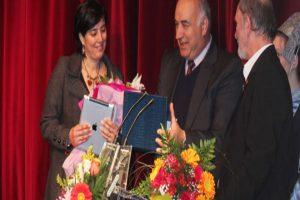 Η Σύρος τίμησε τη δημοσιογράφο του Μega Μαρία Δεναξά [βίντεο]