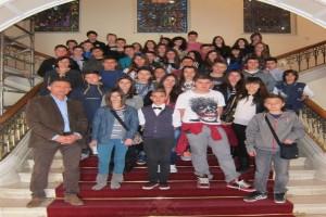 Μαθητές από την Ναύπακτο στην Αρχιεπισκοπή Κύπρου