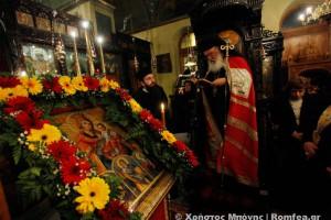 Η Γ' Στάση των Χαιρετισμών στο Μοναστηράκι (ΦΩΤΟ)