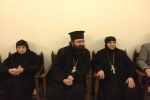 Ιεράρχες του Πατριαρχείου Αντιοχείας παρέλαβαν τις Μοναχές