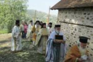 Ανακαίνιση ιερού ναού Οσίου Κυριακού του εν Ευρύχου