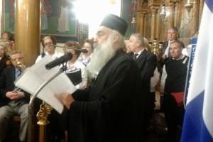 Πλήθος κόσμου παρακολούθησε την ομιλία του Γέροντος Μαξίμου στη Νέα Ηρακλείτσα
