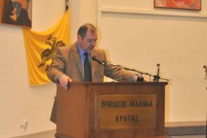 Επίσκεψη του Γεν. Διευθυντή της ΟΑΚ στο Συμβούλιο Ευρωπαϊκών Εκκλησιών