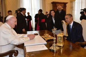 Μεγάλος θαυμαστής του Πάπα δηλώνει ο Ομπάμα
