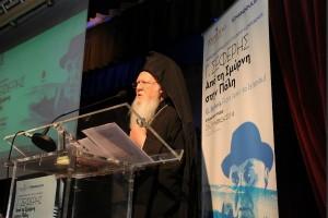 Ο Οικουμενικός Πατριάρχης για τον Σεφέρη της Ρωμηοσύνης (ΦΩΤΟ)