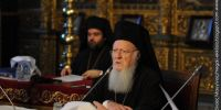 VIDEO-Οικουμενικός Πατριάρχης: Καιρός να δώσωμεν προτεραιότητα εις την ενότητα…